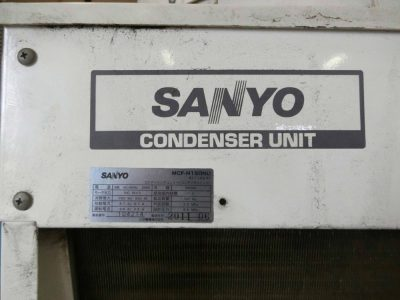 空冷コンデンサ-(三洋電機・MCF-N150NU/R-404A)-3