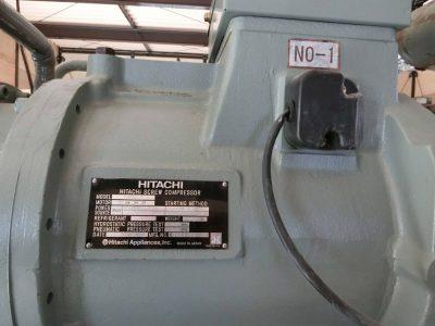 スクリュー冷凍機(日立製作所・RSU-1501T)元-5