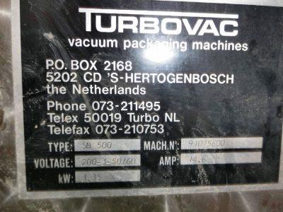 真空包装機【TURBOVAC・SB-500】・・¥ご相談ください-1