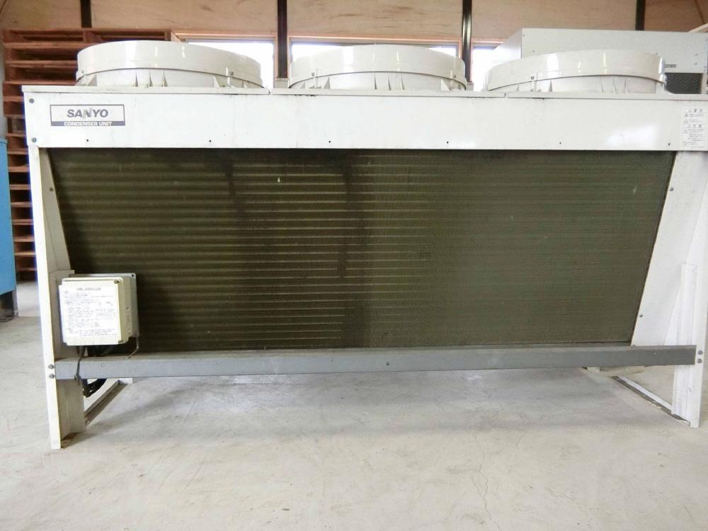 空冷コンデンサ-(三洋電機・MCF-N150NU/R-404A)-2