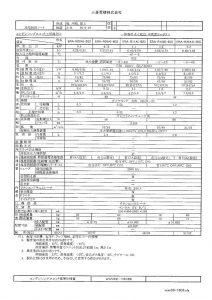 冷凍機(ERA-R11A)・・仕様書のサムネイル